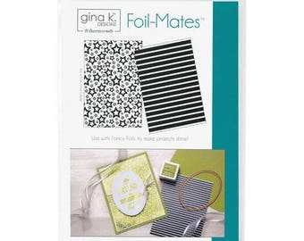 Therm O Web - Foil-Mates - 5.5 x 8.5 - Background - Stars and Stripes
