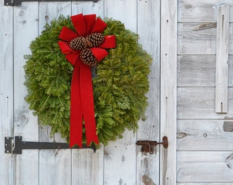 Blue Hill Balsam Wreath