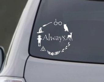 """Harry Potter Inspired """"Always."""" Decal"""