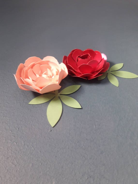 Paper peony flower template paper flower pattern paper flower paper peony flower template paper flower pattern paper flower bouquet cutting files paper flower template from craftedbyneneh on etsy studio mightylinksfo
