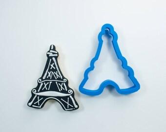 Chubby Eiffel Tower Cookie Cutter   Arc de Triomphe Cookie Cutter   Paris Cookie Cutter   French Cookie Cutter   Travel Cookie Cutters