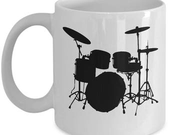 Drum Set Novelty Coffee Mug