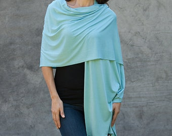 Wrap Scarf Sarong Shawl  Elegant in a Super Soft Fabric with UV protection