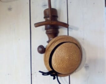 Old wooden coat rack, 30s vintage coat hook
