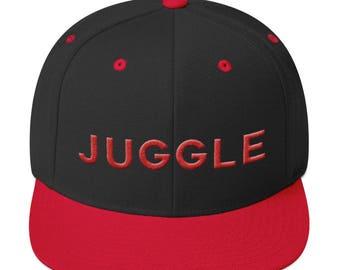 Juggle - 3D Puff Embroidery Snapback