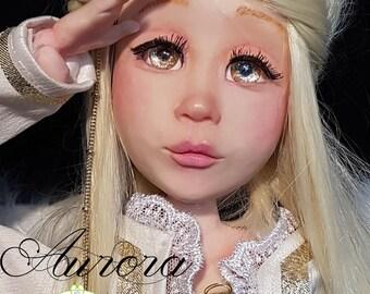 Aurora doll BJD ball jointed doll, handmade