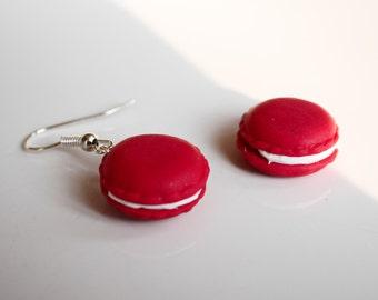 2x Macaron earrings