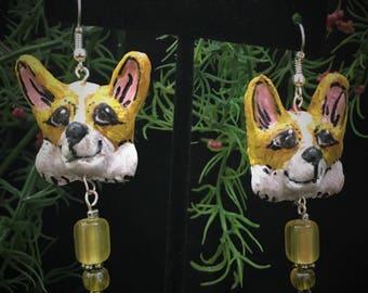 Corgi Dangle Earrings