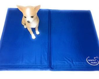 Self-cooling mat KÜHLMATTE for dogs 45 x 60 cm Blue