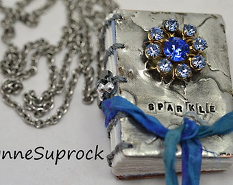 Little Book Necklace - 8