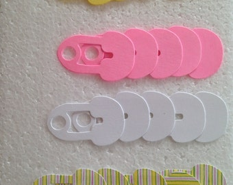Sizzix Baby Girl Safety Pin Die Cuts
