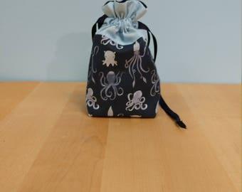 Cephalopod Party Dice Bag