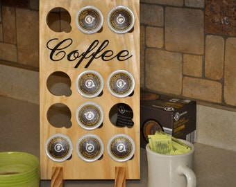 Single Serve Coffee Holder Sign