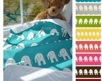 Baby Blanket, Baby Minky Blanket, Minky Baby Blanket, Nursery Blanket - Choose Your Size And Color