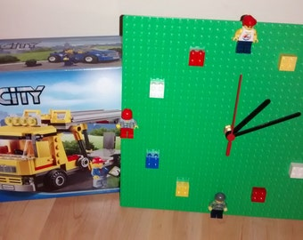 Lego Clock - Handmade
