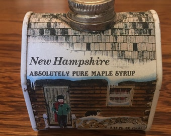 Vintage New Hampshire Absolutely Pure Maple Syrup Tin