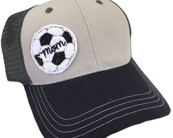 Soccer Mom Adult Hat by Chic Baby Rose - More Colors and Styles