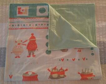 Winter Whimsy baby mat/blanket