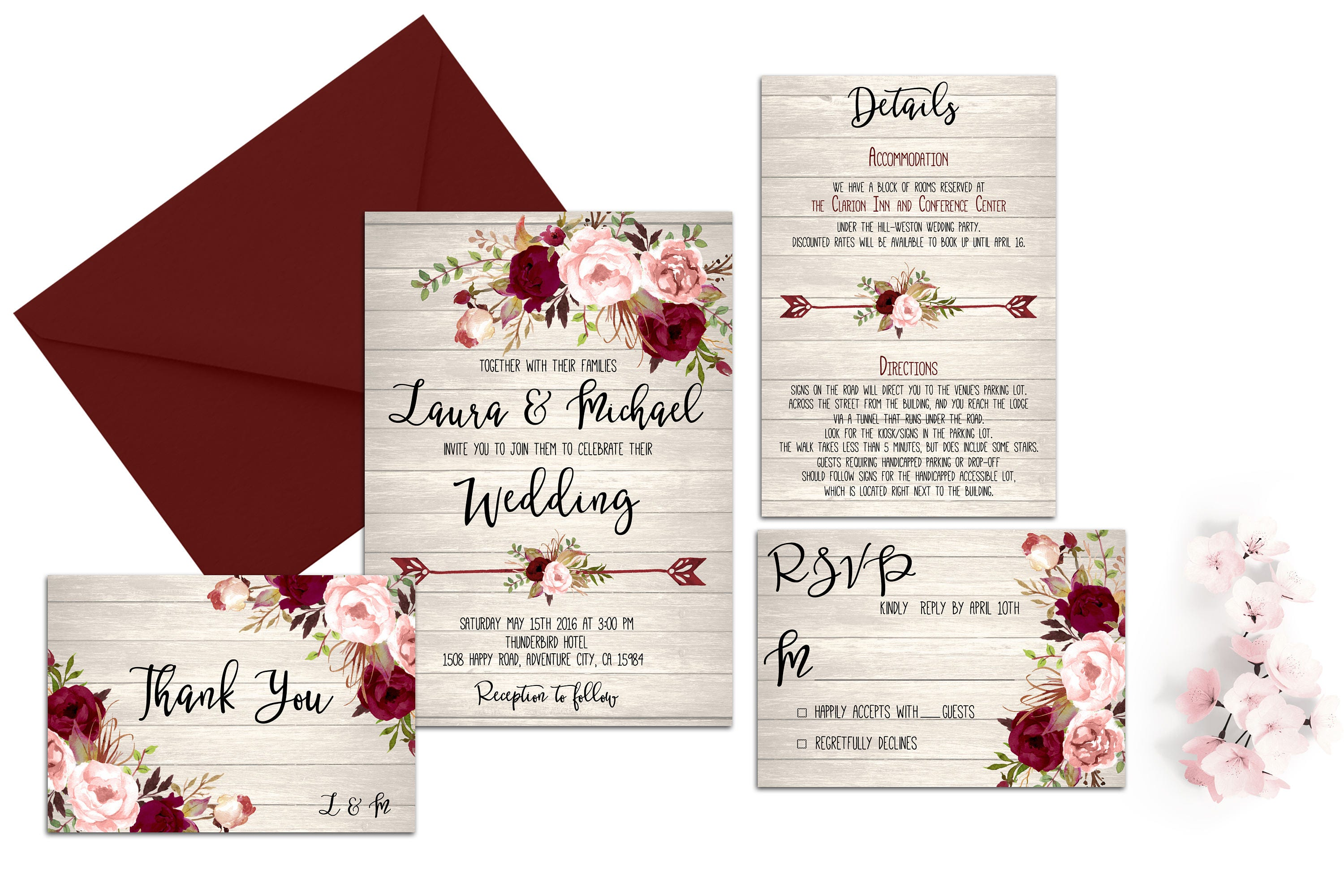 Fancy Wedding Invitations Country Chic Adornment - Invitations and ...