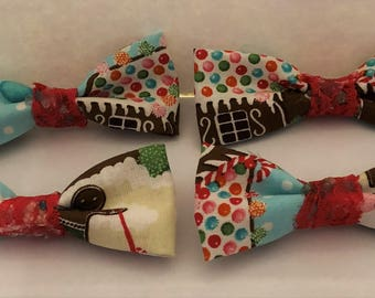 Gingerbread Bows- lace