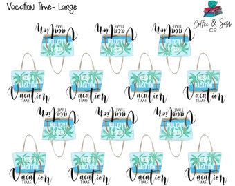 Vacation Time Planner Stickers