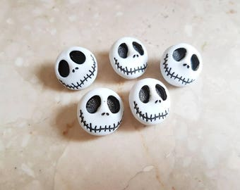Jack skellington The Nightmare Before Christmas Buttons Jack Skellington Buttons Dress it Up Craft Buttons Shank Buttons Disney Buttons