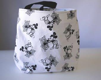 Car Trash Bag Trash Bin Auto Accessories Car Litter Bag New Car Present Headrest Trash Bag Car Organizer Mickey Mouse Steamboat Mickey