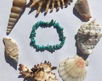 Turquoise Rock Bracelet