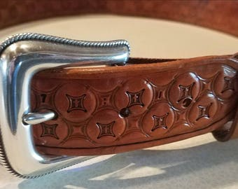 Hand Crafted Leather Belt