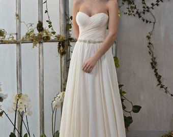 Wedding dress wedding dresses wedding dress VIVIEN champagne