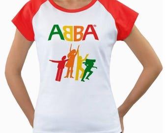 ABBA Womens Tee - Logo - Brand New