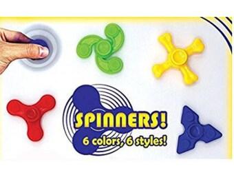 Mini fidget spinner party favors -- 20 randomly selected