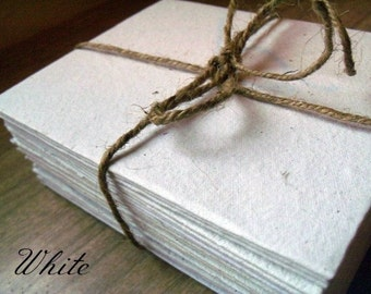 Set of 10 rustic 4x5 envelopes and paper, handmade paper, recycled, eco friendly, acid free, homemade paper, handmade stationary