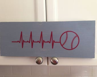 His Heart Beats for Baseball