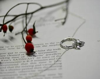 Silver bracelet, Charm bracelet, delicate bracelet