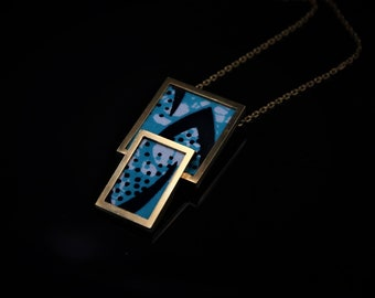 Pendant with Wax fabric
