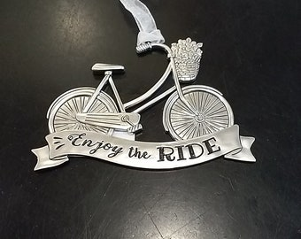 Enjoy The Ride- Bicycle Ornament