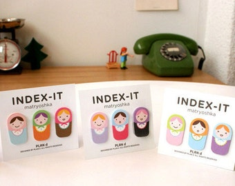 INDEX IT Matryoshka  - sticky note, memo pad, scrapbooking