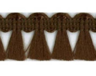 Broom Braid Brown-1.7 cm