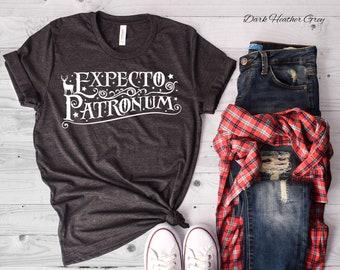 Expecto Patronum Crew Neck Tshirt | Potterhead Shirt | Summer Tshirt | HP fan Shirt | Casual Wear | Spell Shirt | Always | Magic Shirt