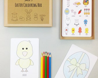 Easter Colouring Box