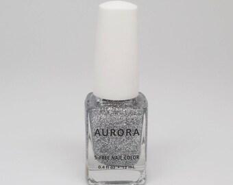 Diamond | Holiday 2017 Gemstones Collection | AURORA 5-Free Nail Lacquer | Handmade Nail Polish