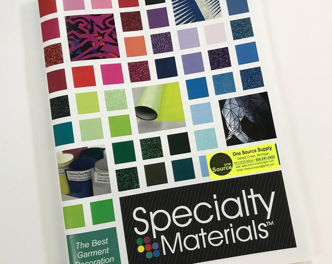 Printed Catalog of all Specialty Materials HTV / 79 pages