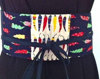 Belt in Japan Cotton Obi Style-SALE