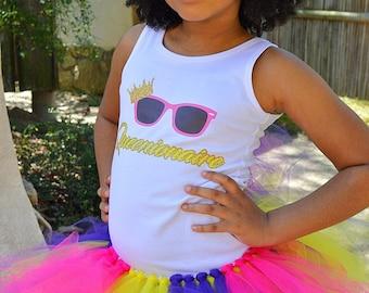 Purple Pink Yellow Tutu, Multicolor Tutu, Birthday Tutu, Girls Tutu, Princess Tutu, Tutu Skirt, Girls Tutu Skirt