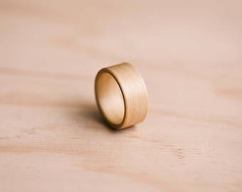 Huon Pine Bentwood Ring