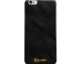 BLACK GEOMETRIC Phone Case - Retro Pattern triangle phone case, gift for her, iPhone 8 case, iPhone X case, iPhone 7 case, iPhone 6 case