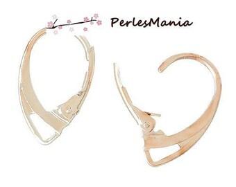 10pcs earring stud earring ROSE gold (S1137411)