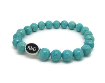 Kingston, KNG, Kingston Jewelry, Kingston Bracelet, Kingston Gifts, Turquoise Riverstone