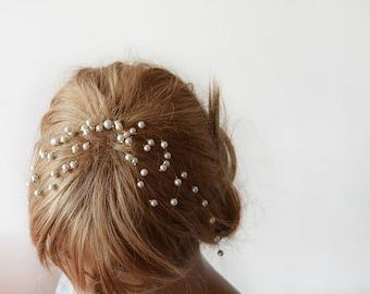 Wedding Hair Accessories, Pearl Comb, Pearl  headband, Bridal Hair Accessory